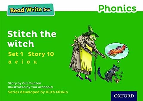 Read Write Inc. Phonics: Green Set 1 Storybook 10 Stitch the Witch