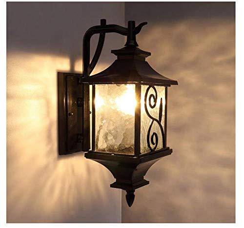 Lampada da parete victoria lampada da giardino in alluminio europeo creativa pensilina da giardino corridoio da balcone corridoio da esterno