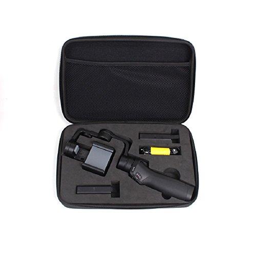 kingwon Tragetasche für Osmo mobile Handheld-Gimbal stoßfest Schutzhülle Aufbewahrungstasche für DJI Osmo Mobile Handheld-Gimbal, Akku, Ladegerät Zubehör, schwarz