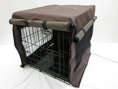 Heavy Duty Waterproof Cover for Dog Cage, 5 sizes