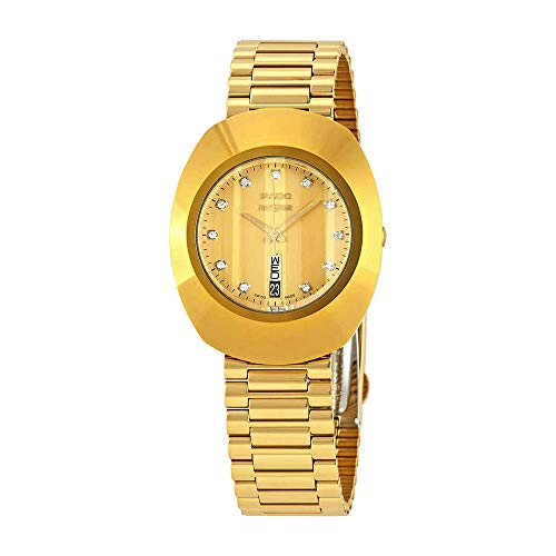 Rado The Original L Diamond Gold Dial Damenuhr R12304303 (Original Rado)