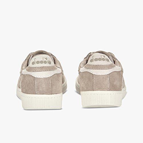 Diadora Game Low S, Sneaker a Collo Basso Unisex – Adulto GRIGIO ARGENTO