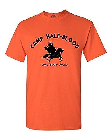 Shop4Ever® Camp Half-Blood Demigods T-shirt Fashion Shirts -
