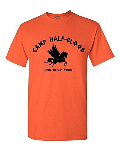 Shop4Ever® Camp Half-Blood Demigods T-shirt Fashion Shirts - Medium