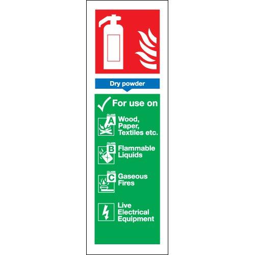 Dry polvere estintore per uso su, non di sicurezza scudo (Scudo Polvere)