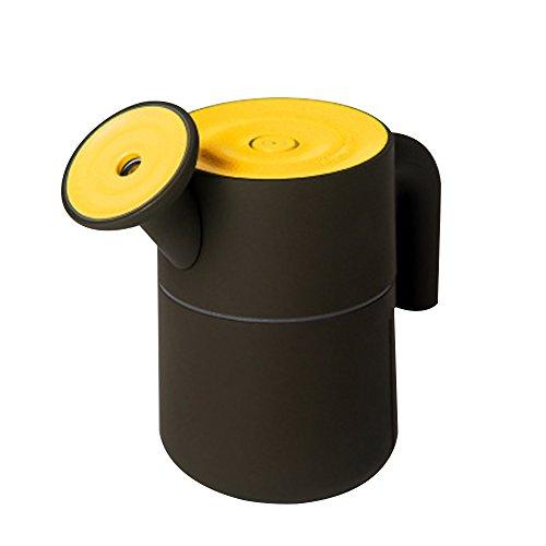 PAVLIT Creativo USB Mini Humidificador, 200ml, Suave LED Luz, Color Amarillo, USB conexión, Ideal para Oficina, Estudio, Salón, Mesa del Ordenador