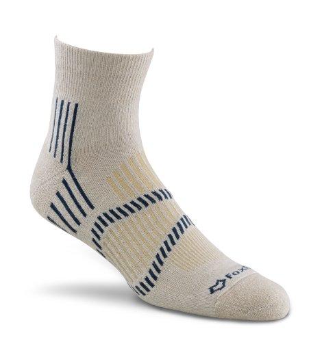 Fox River Stowe Lite Quarter Crew Socken, unisex Herren, hellbeige (Fox River Quarter Sock)