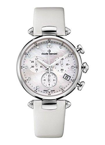 Claude Bernard Women's Quartz Watch with Date Dress Code Chronograph Quartz 102153Nadn