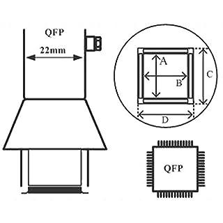 AOYUE 1125 Heißluftdüse QFP 10 x 10 mm für Heißluftlötstationen