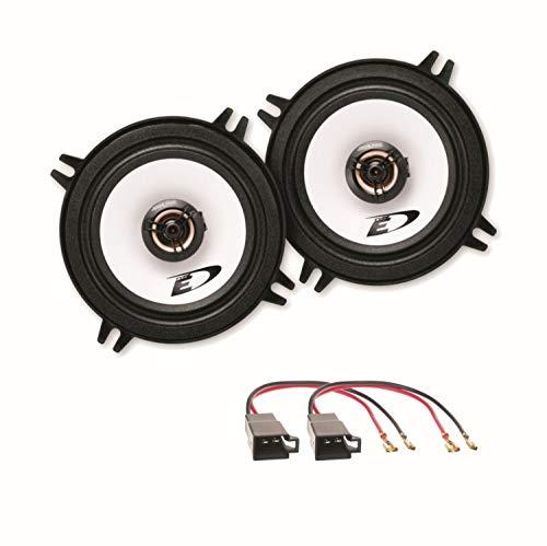 Alpine SXE-1325S 2-Wege Koaxial Lautsprecher Boxen System Einbauset für Golf 1 Cabrio vordere Türen