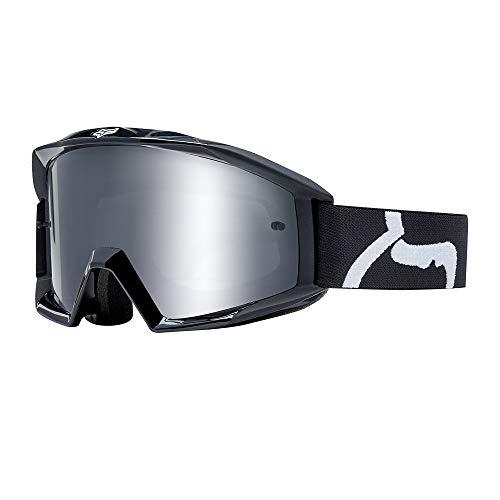 Fox Gogle Main Race Black - glass Clear