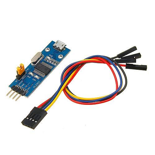 ILS - PL2303 USB-zu-UART TTL-Konverter Mini Tafel LED TXD RXD PWR 3,3V / 5V Ausgang Serial Module -