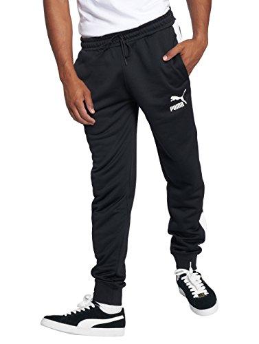 Puma Herren Classics T7 Track Pants Hose, Black, M