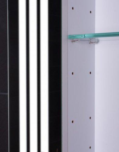 Spiegelschrank Galdem 80 cm – LOFT80 Spiegelschrank weiß - 3