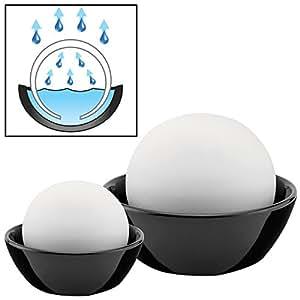 amos atmos sphere humidificateur d 39 air lot de 2 pierres d coratives d 39 eau pour humidification. Black Bedroom Furniture Sets. Home Design Ideas