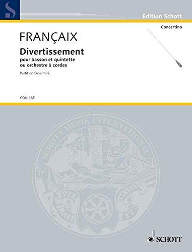 Divertissement par Jean Francaix