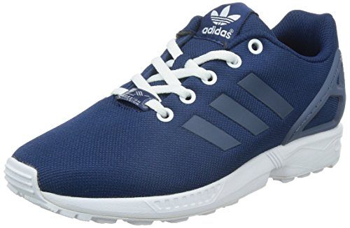 adidas Originals ZX Flux B25637, Unisex-Kinder Low-Top Sneaker, Blau (Oxford Blue F15-ST/Fade Ink F15-ST/FTWR White), EU 38 (Adidas Oxford)