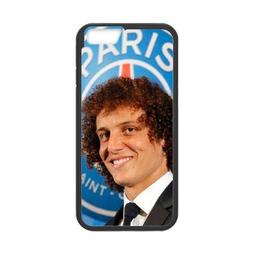 David Luiz coque iPhone 6 Plus 5.5 Inch Housse téléphone Noir de couverture de cas coque EBDXJKNBO13311