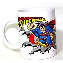 Superman taza de cerámica