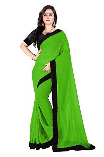 Saree (Modern Sarees Latest Saree Of 2017 Women's Clothing Saree For Women Latest Design Wear Sarees Collection Latest Saree With Designer Blouse Free Size Beautiful Bollywood Saree For Women Party Wear Offer Designer Sarees With Blouse Piece)