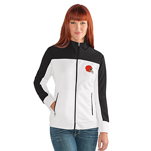NFL Damen Play Maker Track Jacket, Damen, Play Maker Track Jacket, weiß, XX-Large