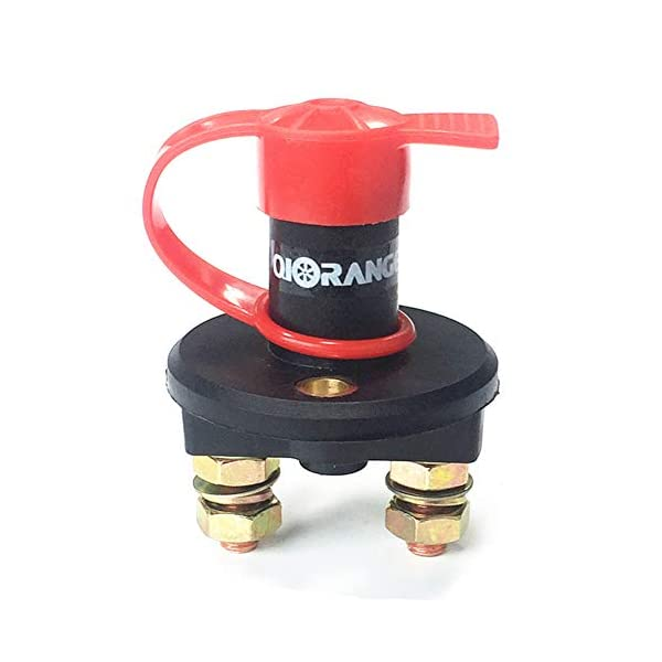 Qiorange Car Battery Isolator Cut Off Switch 24v 12v Max 500A 1