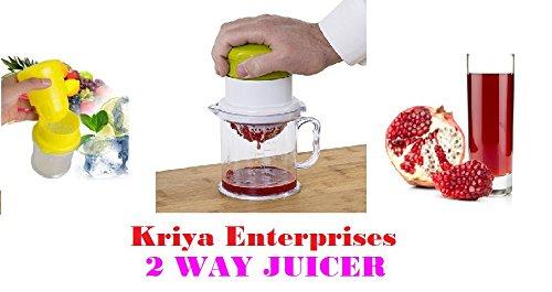 Kriya enterprises 2 Way Multipurpose Juicer for Orange, Pomegranate, Lime Fresh, Water Melon Healthy Juice Anytime