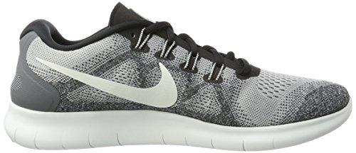 Nike Free RN 2017, Scarpe Running Uomo Grigio (Wolfgrau/farbloses Weiß-reines Platin)