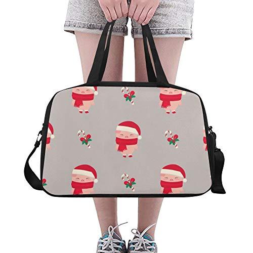 Piggy Pig Große Yoga Gym Totes Fitness Handtaschen Reisetaschen Schultergurt Schuhtasche Für Sportgepäck Für Mädchen Männer Frauen Outdoor ()