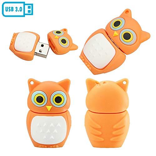 32GB owl - Modell USB Flash Drive Stick Pen - Drive USB 3.0 Flash - Festplatte, USB - Stick USB 3.0 stecken (orange)