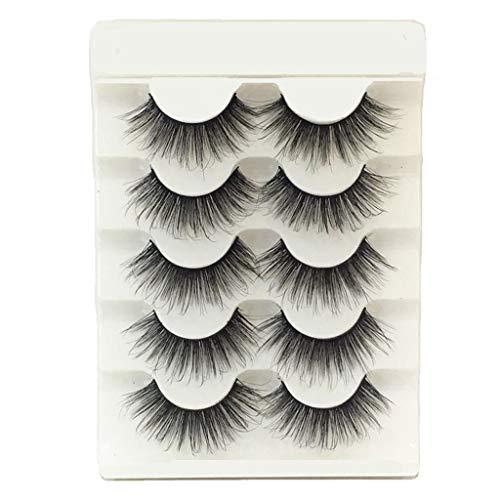 Damen Wimpern Magnet ZYUEER Künstliche Wimpern 3D Falsche Wimpern