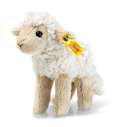 Steiff Lamm Flocky stehend 15 cm weiß 073090 Plüschlamm