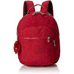 Kipling CLAS Seoul S Mochila Escolar, 34 cm, 10 litros, Rojo (Radiant Red C)