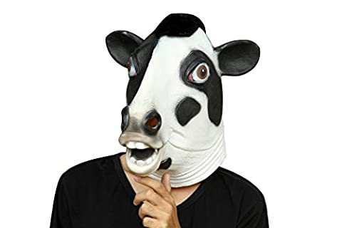 Party Storyla Vaches laitières masque masque en latex tête masque