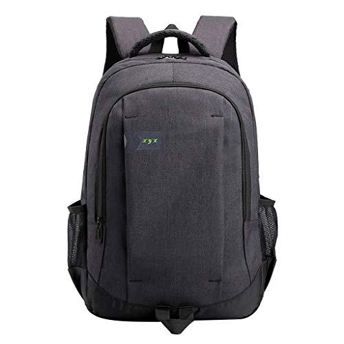 Neuer Trend! Unisex Große Kapazität Laptop Rucksack, Multifunktional Fashion Schulrucksack Student Laptoptasche Notebook Reiserucksack für Business/Schule/Reisen LEEDY