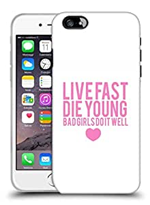 Snoogg Bad Girls do it Well Designer Protective Back Case Cover for Apple iPhone 6
