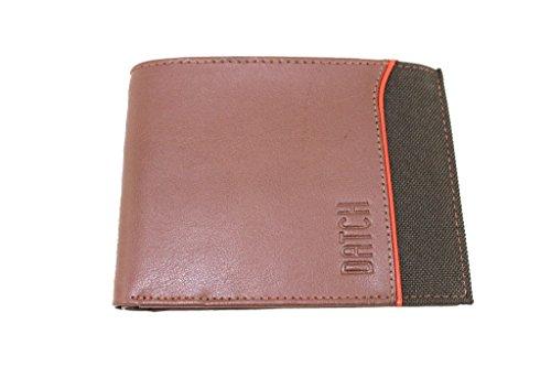 Portafogli Uomo Datch L.Emerson Wallet 15903 Marrone Moda Italiana