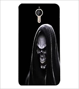 PrintDhaba Skull D-1142 Back Case Cover for LETV LE 1 PRO ULTRA (Multi-Coloured)