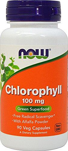 NOW FOODS CHLOROPHYLL 100mg 90 CAPS