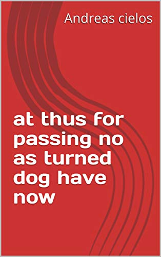 at thus for passing no as turned dog have now (Provencal Edition)