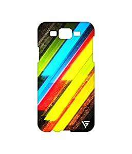 Vogueshell Line Pattern Printed Symmetry PRO Series Hard Back Case for Samsung Galaxy J7