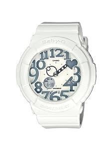 Reloj Casio BGA-134-7BER y digital de cuarzo para mujer con correa de resina, color blanco de Casio