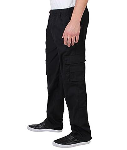 Homme Pantalon Style Cargo Militaire Ample Confortable Combat Casual