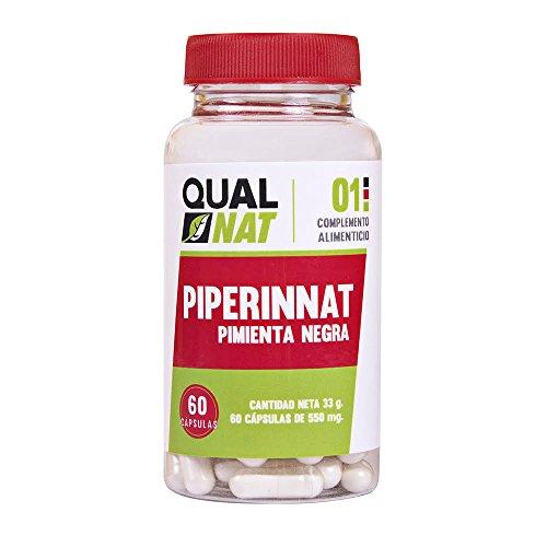 Integratore alimentare di piperina, aiuta a perdere peso e dimagrire con una dieta sana - Proprietà antiossidanti, brucia grassi e sazianti - Estratto dal pepe nero, 100% naturale - 60 capsule