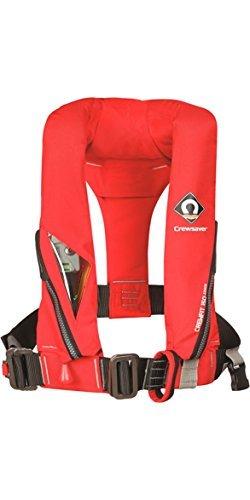 Crewsaver Bootfahren und Segeln - Crewfit 150N Kinder Jugend Junior LifeCoat Jacke Mantel Auto with Harness Rot - Unisex