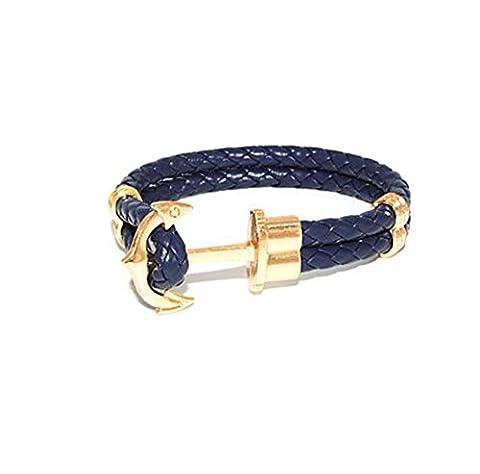 HFJ&YIE&H Bracelet journalier occasionnel 1pc mode hommes , white