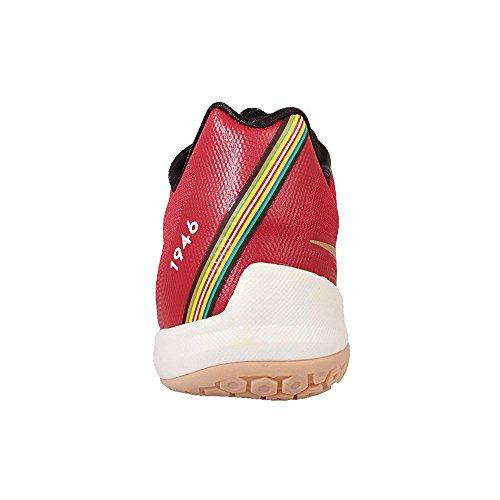 Nike Herren Hyperlive Lmtd Basketballschuhe Rot / Gold / Schwarz (Unvrsty Rot / Mtllc Gld-Blk-SL-)