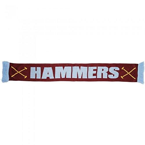 Bufanda oficial del West Ham United FC Modelo Hammers