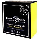 Edwin Jagger Traditional Shaving Soap Refill Limes & Pomegranate 65g