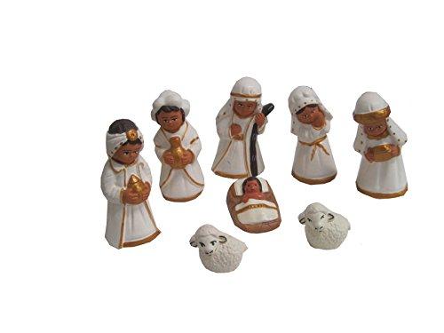 Discount ethnique – Crèche terre cuite juif Set H.6 cm